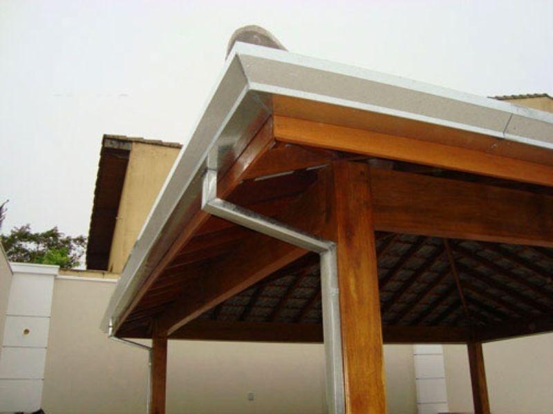 Calhas Moldura para Telhado Vila Carrão - Calha Moldura Corte 28