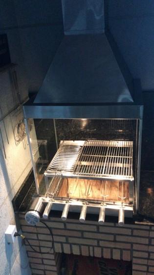 Coifa para área Gourmet Liberdade - Coifas de Aço Inox