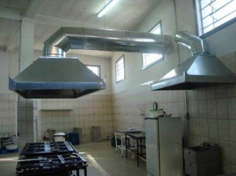 Coifa para Cozinhas Industriais Vila Buarque - Coifa de Aço Inox Industrial
