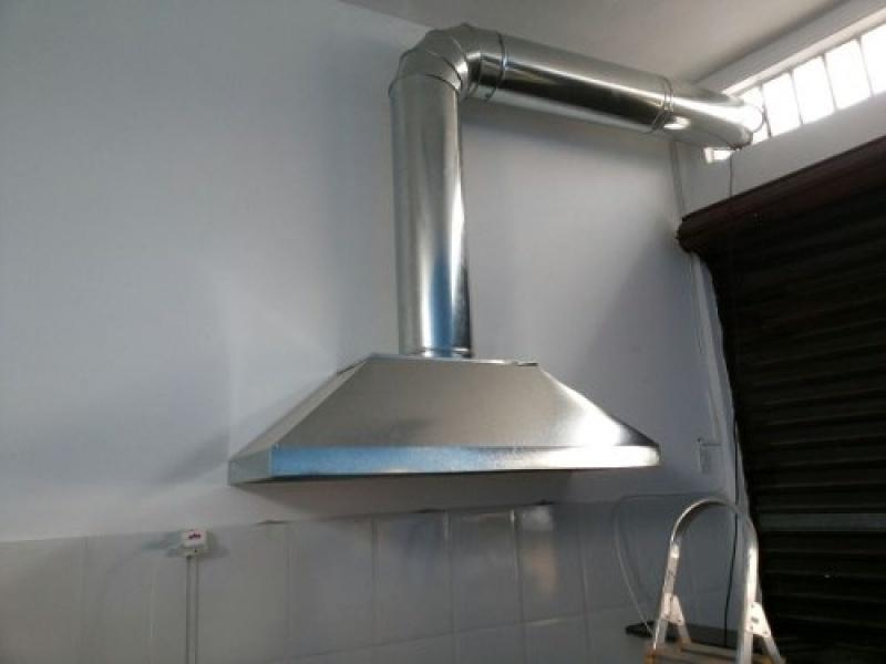 Coifas de Aço Inox Industriais Salesópolis - Coifas de Aço Inox