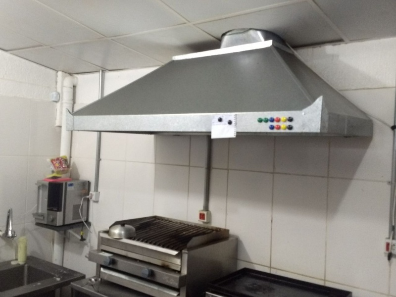 Coifas de Zinco Galvanizada Preço Alto de Pinheiros - Coifa de Aço Inox Industrial