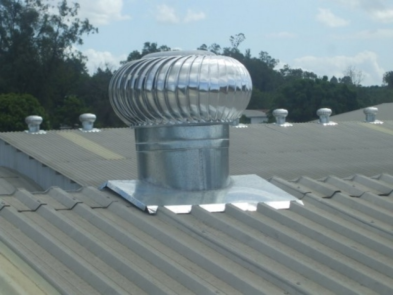 Exaustor Eólico Industrial Jockey Club - Exaustor Eólico Giratório