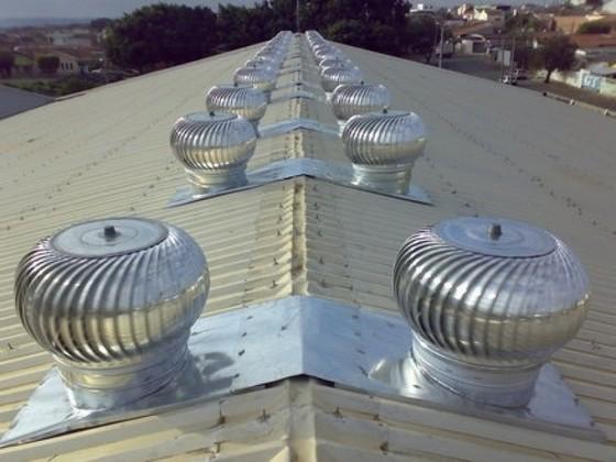 Exaustores Eólicos Industriais Santa Efigênia - Exaustor Eólicos de Teto