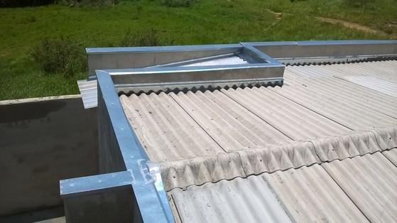 Instalação de Rufos Pingadeira de Alumínio Preço Jardins - Instalação de Rufo Externo