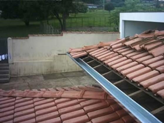 Montagem de Calha Moldura Corte 40 Sumaré - Montagem de Calhas em Telhados