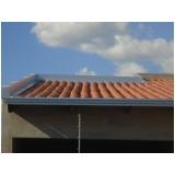 calha moldura para telhado