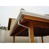 calhas moldura para telhado Brooklin