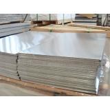 chapa em alumínio Glicério
