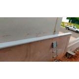 chapa pintura eletrostática branca preço Vila Prudente