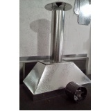 coifa de aço inox Aricanduva
