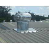 exaustor elétrico para telhado Aclimação