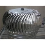 exaustores eólicos de alumínio Luz