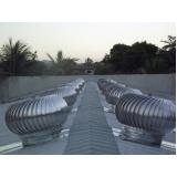 fabricante de exaustor elétrico para telhado Guararema