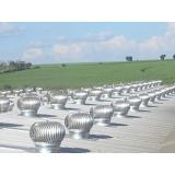fabricante de exaustor eólico giratório Aricanduva