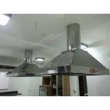 instalação de coifa industrial em restaurante Glicério