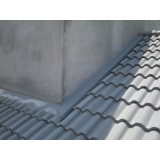 instalação de rufo em telhado preço Campo Belo