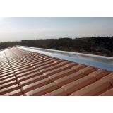 instalação de rufo em telhado