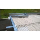 instalação de rufos externos para telhados