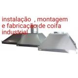 montagem de coifa cozinha valor Vila Mariana