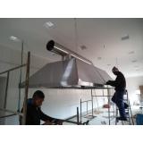 montagem de coifa no teto preço Aclimação