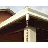 quanto custa instalação de calhas em telhados Rio Pequeno