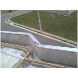 rufos pingadeira para muros preço Salesópolis