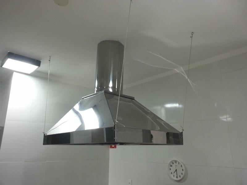 Venda de Coifa de Aço Inox Industrial Luz - Coifas de Aço Inox