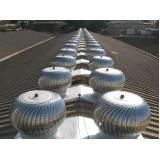 fabricante de exaustor eólico industrial Morumbi