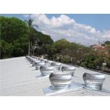 fornecedor de exaustor elétrico para telhado Santo André