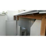 instalação de calha galvanizada preço Cambuci
