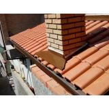 instalação de rufo em telhado Jardins
