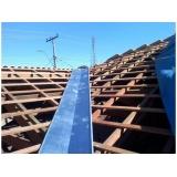 instalação de rufos externos para telhados Sumaré