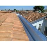 montagem de calha moldura corte 40 preço Campo Belo