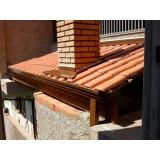 quanto custa instalação de rufo em telhado Ferraz de Vasconcelos