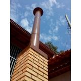 serviço de instalação de rufo telhado Suzano