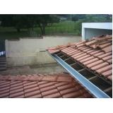 serviço de montagem de calhas em telhados Sacomã